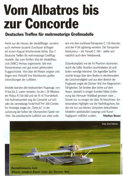 aviator modell zeitschrift